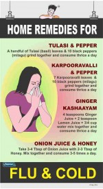 314 - Home remedies for FLU & COLD