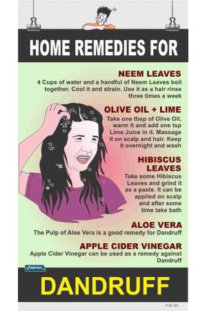 321 - Home remedies for DANDRUFF