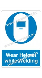 S0001 - Wear Welding Helmet