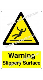 S0010 - Warning Slippery Surface