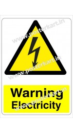 S0016 - Warning Electricity