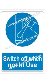 S0023 - Switch off when not in Use
