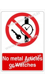 S0036 - No Metal articles or Watches
