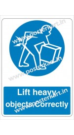 S0075 - Lift Heavy objects correctly