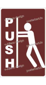 S0083 - PUSH Male Sign