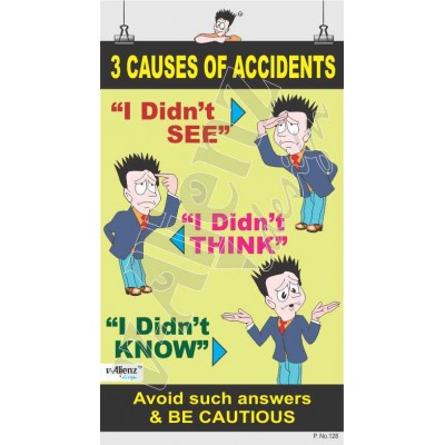 128 - 3 Causes of Accident