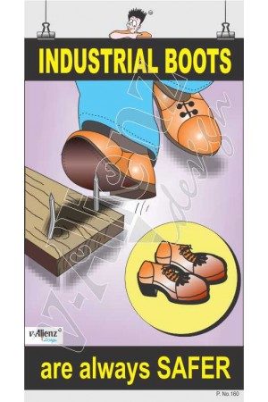 160 - Industrial Boots