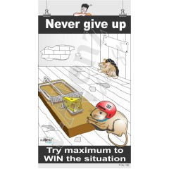 163 - Never Give up