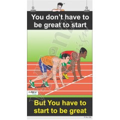 235 - You dont have to be Great to start